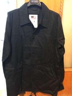 HUF 黑色布質外套