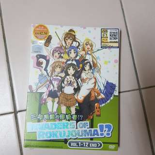 Anime Original DVD (Invaders of Rokujouma!?, Captain Earth, Ushinawareta Mirai O Motomete)