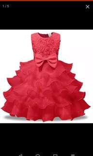 Little girl pricess dress