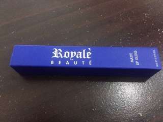 Royale Matte Lip Gloss