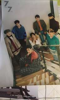 GOT7 WANNA ONE VICTON offical posters