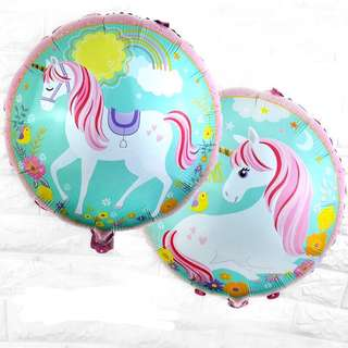 🦄 Unicorn theme party supplies - party balloons / party deco