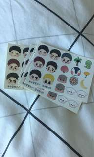 Got7 fansite stickers