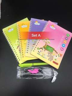 Magical books and pen for pre school students
