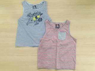 Cotton On Boy Tank Top Set