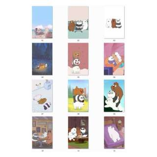 We Bare Bears Ezlink Card Stickers ( D1 )
