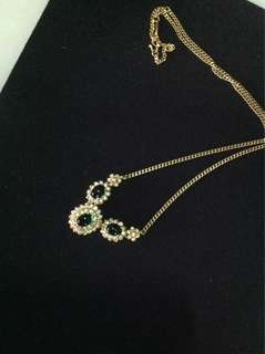 Zhulian Gold plated necklace