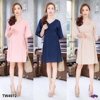 Chiffon dress ; shop to