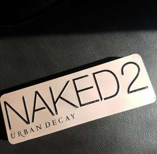 Urban decay naked 2 eyeshadow pallet