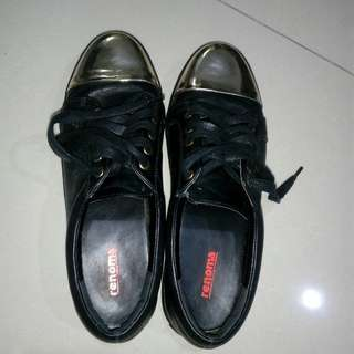 RENOMA BLACK SNEAKERS SIZE 41