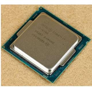 (二手)95%NEW Intel® Core i7-6700 LGA1151 CPU