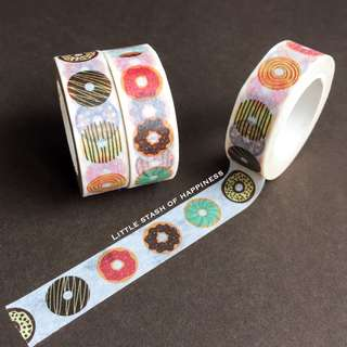 FREE NORMAL MAIL- Donut Washi Tapes #018