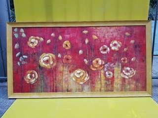 色彩鮮明油畫