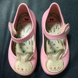 Zaxy bunny shoes for kids (mini melissa inspired)
