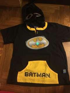 Batman t shirt w hoody