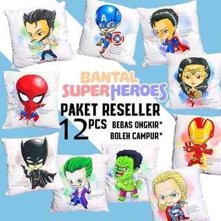 Paket reseller bantal superhero