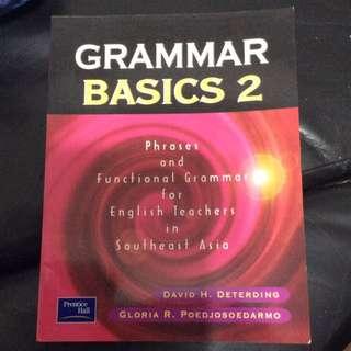 Grammar Basics 2