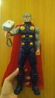 Original Thor Titan Heroes action figure with custom hammer
