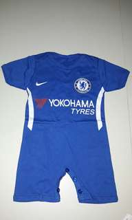 Baby football rompers