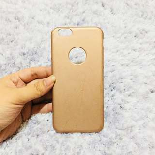 Miniso iPhone 6/6s Matte Rose Gold Case