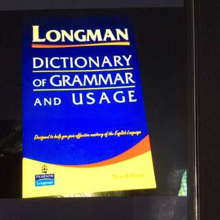 Dictionary Of Grammar And Usage