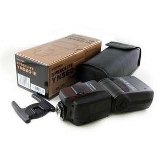 Yongnuo 560 III universal flash with built in receiver speedlight speedlite yongnou for Canon Nikon Sony Pentax Fujifilm Olympus Panasonic Leica