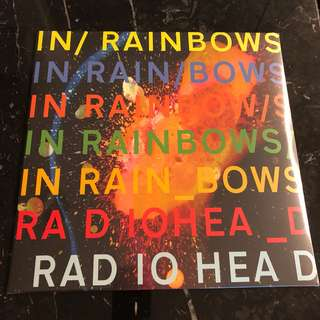 Radiohead - In Rainbows. Vinyl Lp. New