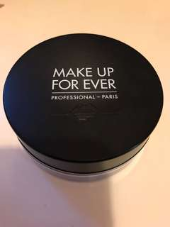 Make up for ever Ultra HD loose powder Face Powder 碎粉 蜜粉 透明