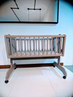 WTS Baby crib & cradle (Made in Germany)