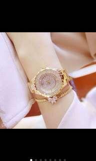 Diamond fashion watch