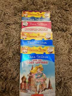 Thea Stilton - 4x Books. Almost Brand New! @$20