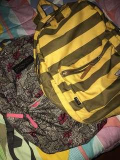 Jansport and Herschel backpack
