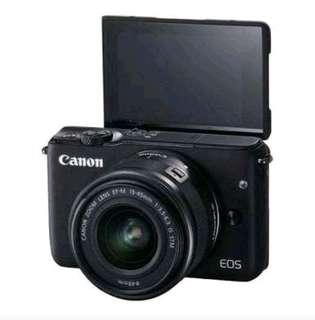 Kredit Kamera Canon M10 bunga 0%