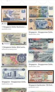 Wtb old sg notes