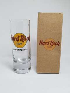 Sacramento Hard Rock Cafe Classic Shot Glass, Collectible