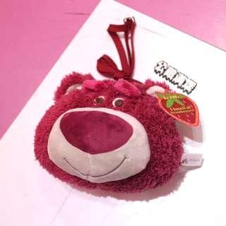 「Toy Story Pixar Disney 玩具總動員 熊抱哥 後背包 20X15CM@公雞漢堡」