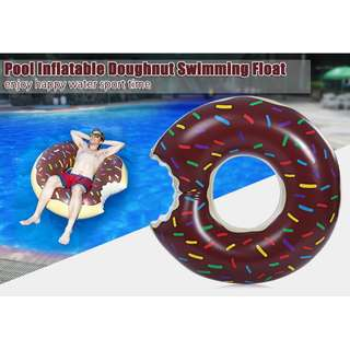ADULT INFLATABLE GIGANTIC DOUGHNUT SWIMMING FLOATING