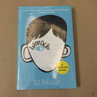 (Brand New) Wonder by R.J. Palacio