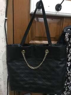 Charles & Keith Black Tote Bag [NETT]