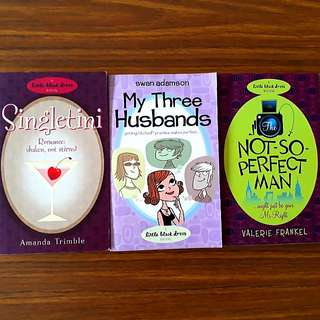 3 for $10: A Little Black Dress Book: Singletini; Not-So-Perfect Man; My Three Husbands