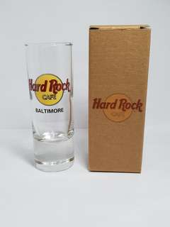Baltimore Hard Rock Cafe Classic Shot Glass, Collectible