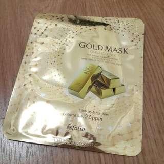 Esfolio gold mask