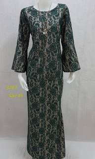 Kurung lace plus size