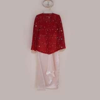 Modern Kebaya Girl Suit
