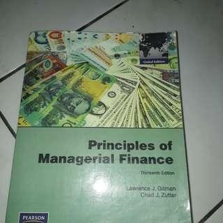 Buku Principles of Managerial Finance
