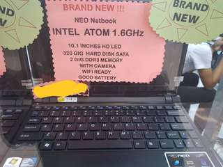 Neo netbook intel atom.1.6 ghz