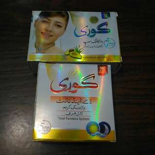 Goree Set (Day And Night Cream And Soap)