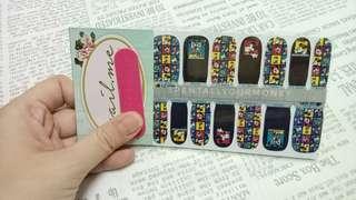 nailme mickey mouse nail wrap/sticker/stiker kuku