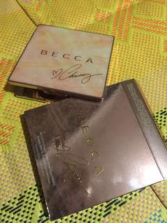 100% authentic becca X Chrissy Teigen glow face palette