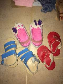 Baby girl's shoes bundle